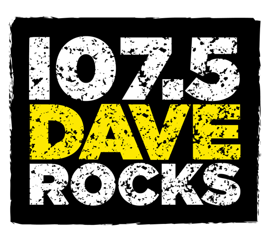 107.5 Dave FM to DAVE ROCKS Rebrand and Redesign