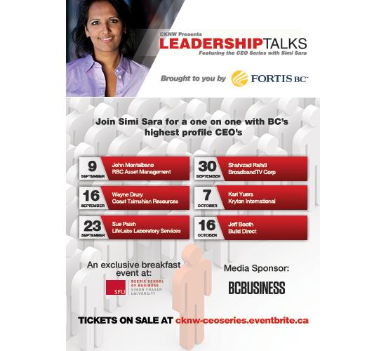 CKNW Leadership Talks