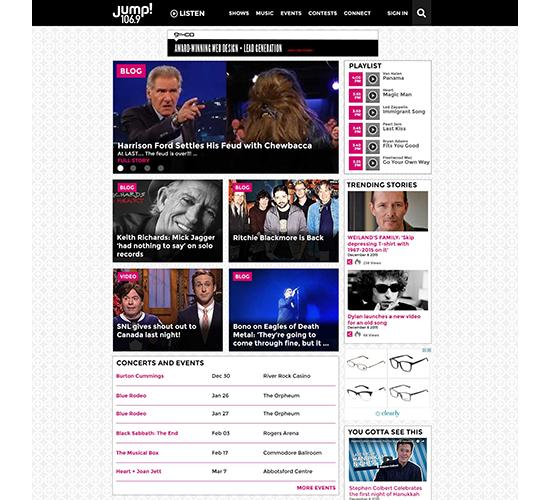FM Radio Site Redesigns