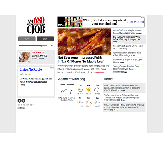 AM News Player Redesign