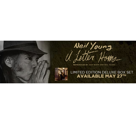 Neil Young A Letter Home Album Release